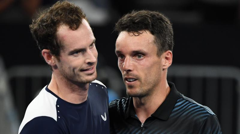 Murray announced at an emotional press conference on Friday that he would retire at Wimbledon this year, but conceded the Australian Open could be his last tournament, so great have been his injury problems. (Photo: AFP)