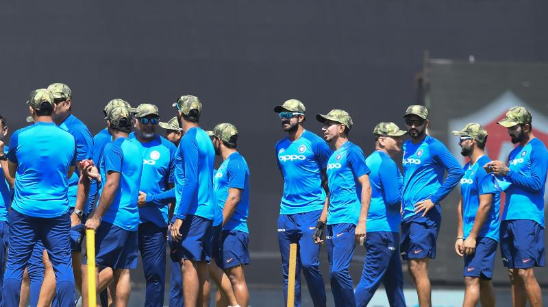 The BCCI said they had sought permission from the world governing body before Friday's match Indian media reported