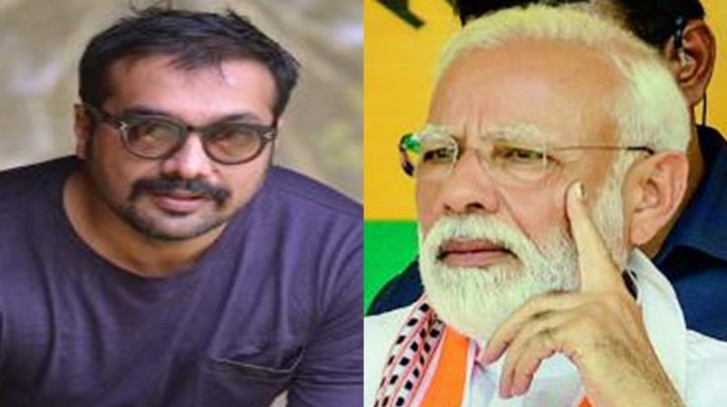 Anurag Kashyap and Narendra Modi.