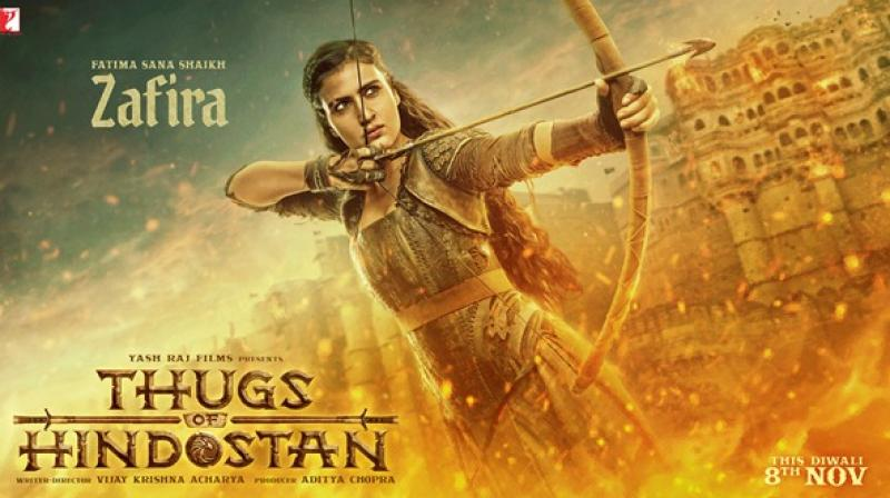 Thugs Of Hindostan poster: Fatima Sana Shaikh introduces her as Zafira
