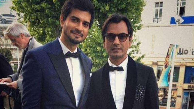 Tahir Raj Bhasin and Nawazuddin Siddiqui in Cannes for Manto.