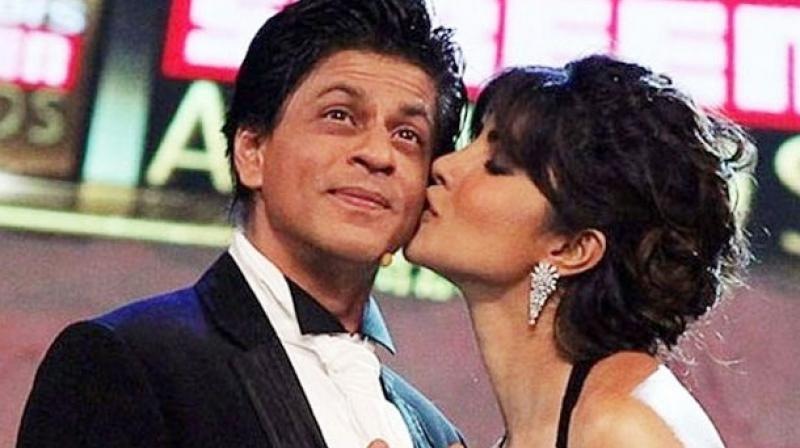 Shah Rukh Khan and Priyanka Chopra.