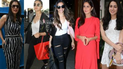 Bollywood stars stepped out for their professional and personal commitments in Mumbai on Sunday and were clicked by the cameras. (Photo: Viral Bhayani)