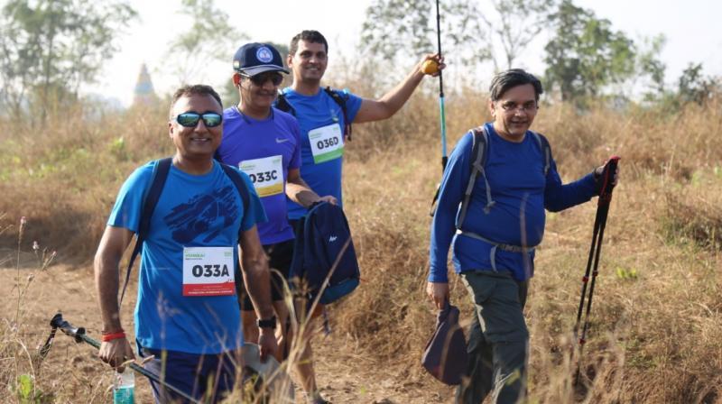 Oxfam Trailwalker India Participants (Photo: File)