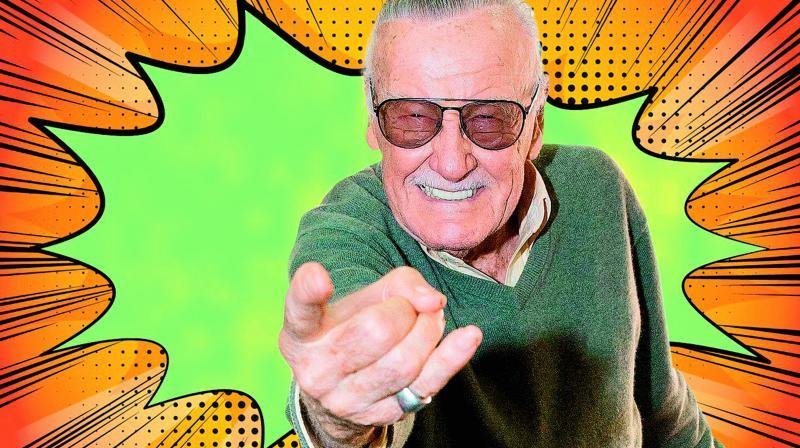Marvel legend Stan Lee