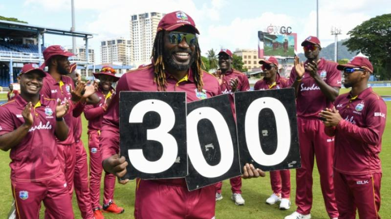 Gayle is also expected to feature in the third ODI of the series. (Photo: AFP)