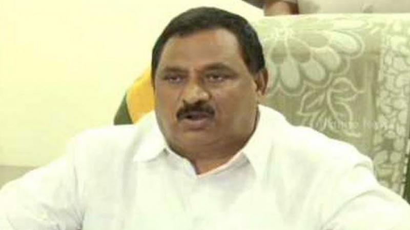 Deputy Chief Minister N. Chinarajappa