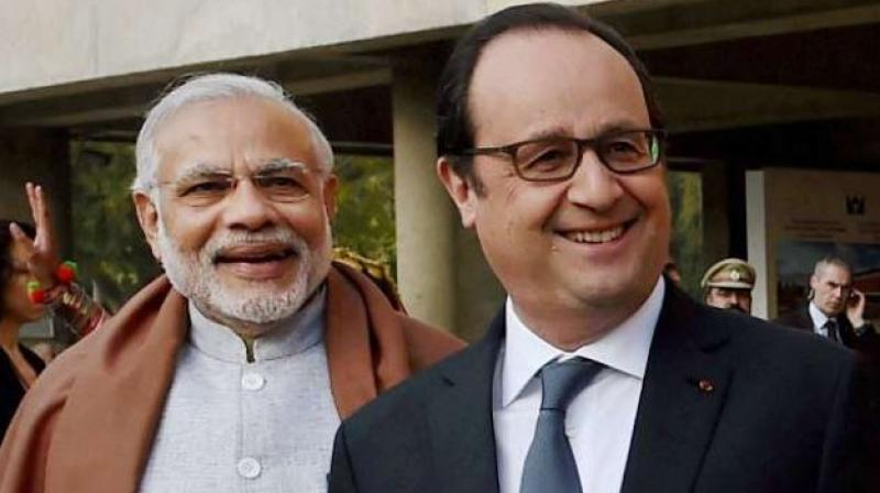 Hollande throws live grenade in Rafale deal muck