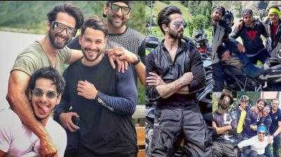 After the success of Kabir Singh, Shahid Kapoor is in celebratory mood. The actor has gone to Switzerland to enjoy bike ride trip with brother Ishaan Khatter, dear friend Kunal Kemmu and others. (Photos: Instagram)