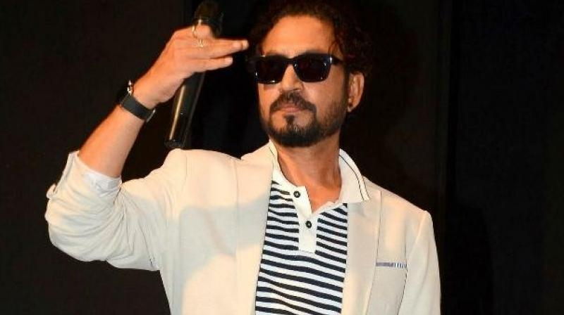 Irrfan Khan is currently in UK for treatment for neuroendocrine tumour.