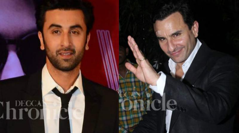Ranbir Kapoor and Saif Ali Khan have been spending some quality time with each other.