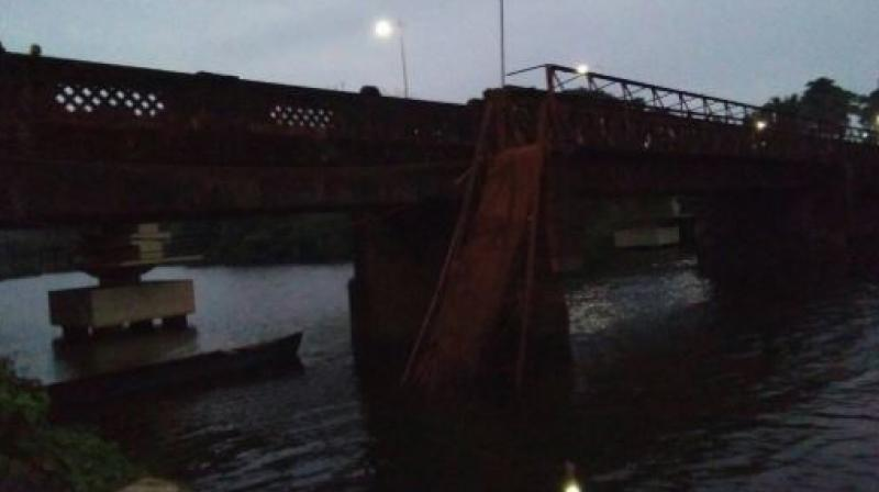 Around 10 people have been rescued and taken to a hospital while the search for the rest is on. (Photo: Twitter | ANI)