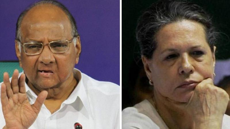 Earlier in the morning, Sonia Gandhi again spoke to Pawar over telephone and asked her party leaders to meet Pawar in Mumbai. (Photo: File)