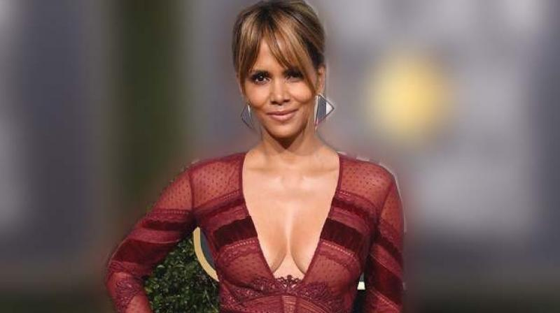 A picture of Halle Berry used for representational purpose only