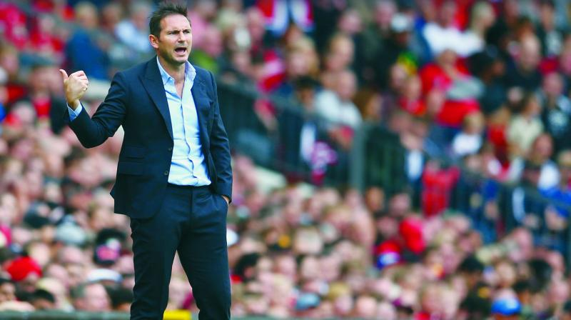 Four mistakes for the goals, let's get that out straight away because we have to be self-critical about that — Frank Lampard Chelsea boss