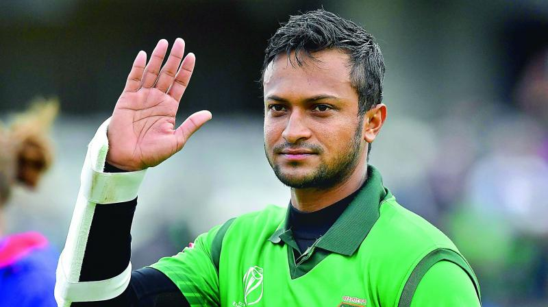 """We've been facing some of the best fast bowlers in the last four matches. We've been coping well... not worried about that. We just need to do our basics right. — Shakib al Hasan Bangladesh allrounder"