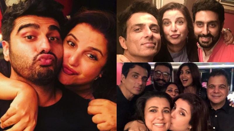 Farah Khan turned another year older  on Tuesday and celebrated the occasion with several stars from the entertainment industry. (Photo: Viral Bhayani/ Instagram)