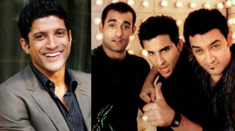 Farhan Akhtar was considering Hrithik Roshan and Abhishek Bachchan for 'Dil Chahta Hai' before signing his leads.