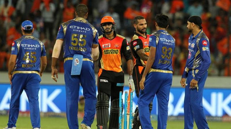 Hyderabad rediscovered the form that saw them soar to the top of the IPL table, towards the start of the season. (Photo: BCCI)