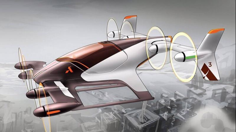 Vahana will operate on batteries that can give it a flying range of 60 miles at a speed of 140 mph.