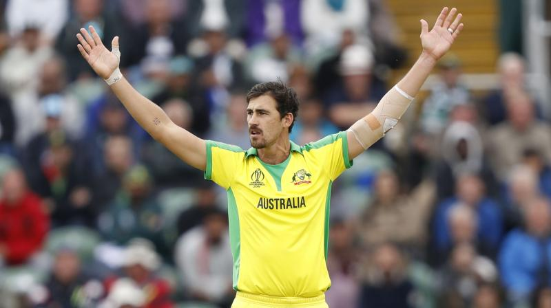 The left-arm pacer is leading Australian fast-bowling attack and currently holds the most number of wickets in the tournament. (Photo: AP)