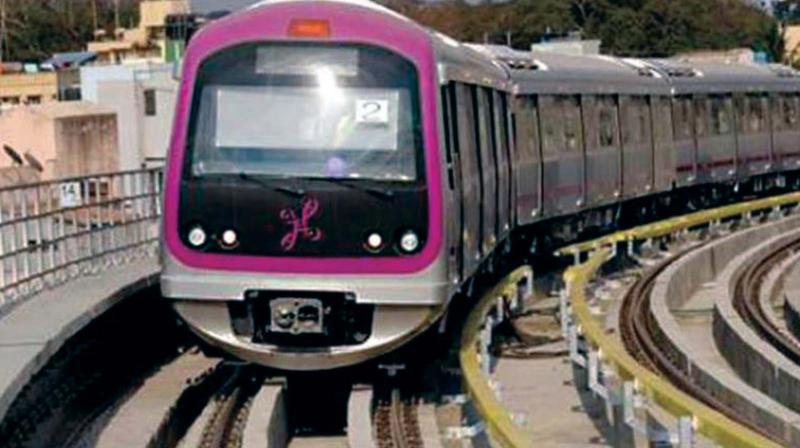 The BMRCL had acquired 7,426 sqmt of land on Hosur Road, said to be belonging to the 150-year-old church, for the Vellara Junction station of the Red Line (Gottigere-Nagawara) of Metro's Phase-II work. (Representational image)
