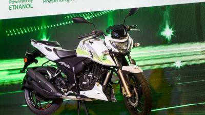 TVS Apache RTR 200 Fi E100 has been launched in India at Rs 1.2 lakh (ex-showroom)