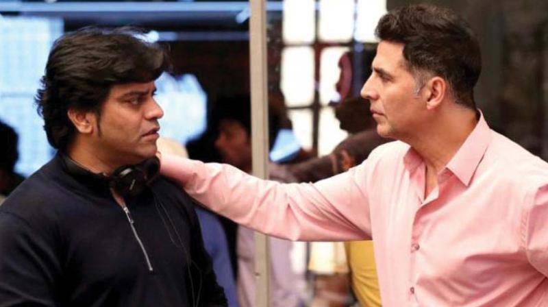 Jagan Shakti with Akshay Kumar.
