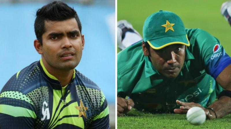 Umar Akmal and Mohammad Sami's names were repeatedly mentioned during the testimony recorded by the operations officer of the UK National Crime Agency before the three- member anti-corruption tribunal of the Board last Thursday. (Photo: AFP / AP)