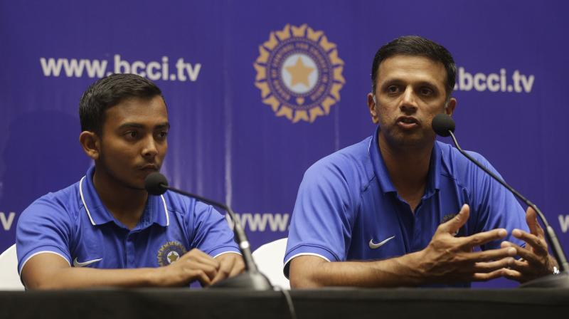 Rahul Dravid reacts over inequality in Prize money