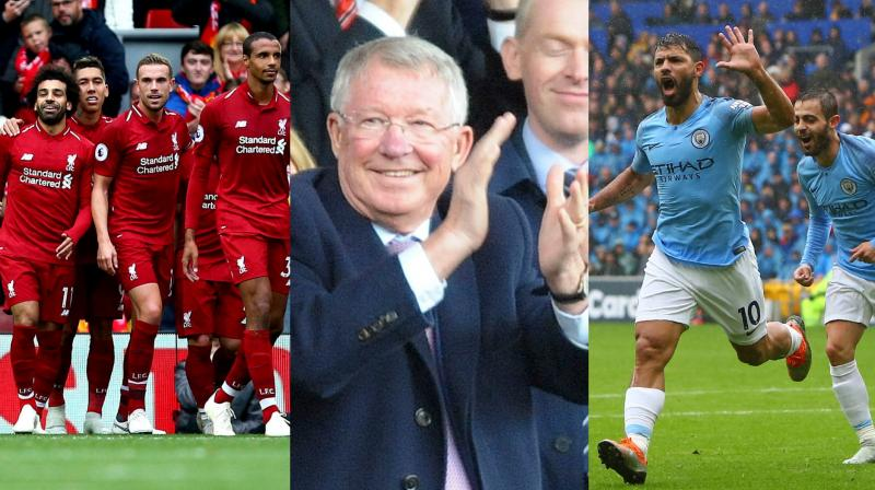 Liverpool and Manchester City s shootout for the Premier League title  intensified on Saturday with comfortable wins 26510e8e1