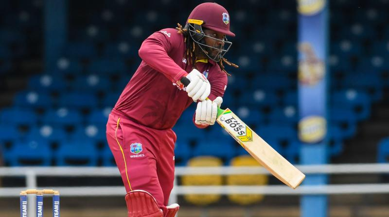 In reply, West Indies were on course at 148 for four before they lost their last six wickets for 62 runs to be bundled out for 210 in 42 overs. (Photo: AFP)