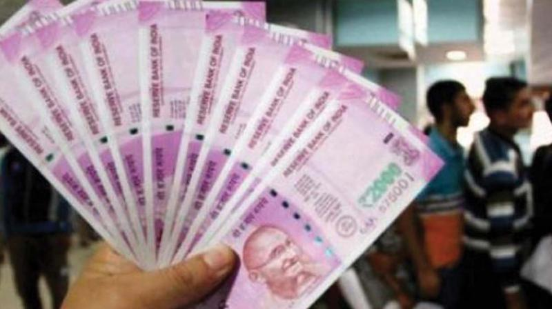 Revenue Intelligence wing have seized large amounts of foreign currency.