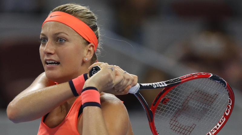 Petra Kvitova's name was included last week on the entry list for the French Open, which runs from May 28 to June 11, but said that did not necessarily mean she would play in Paris. (Photo: AP)