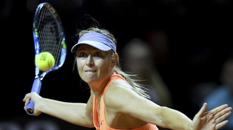 After reaching the semifinals in Stuttgart last week, Maria Sharapova's first tournament since her ban for taking the prohibited substance Meldonium at the 2016 Australian Open, her world ranking rose to 262 in the world rankings. (Photo: AP)