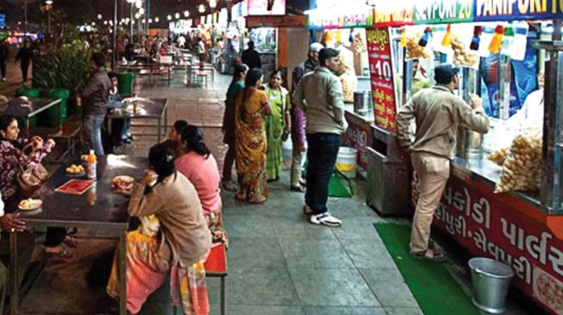The first 'Clean Street Food Hub' was set up near Kankaria Lake in Ahmedabad and the FSSAI awarded it a certificate recognising it as India's first hub. (Representational image)