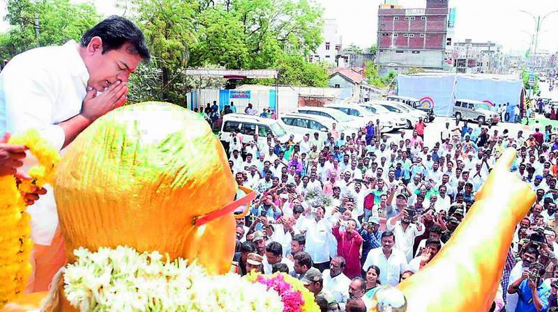 Ambedkar's birth anniversary celebration today