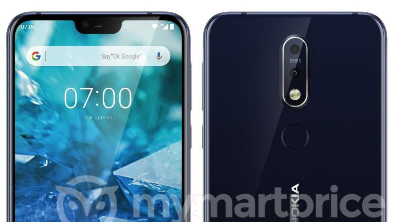 Nokia 7.1 Plus press renders reveal notch & dual cameras