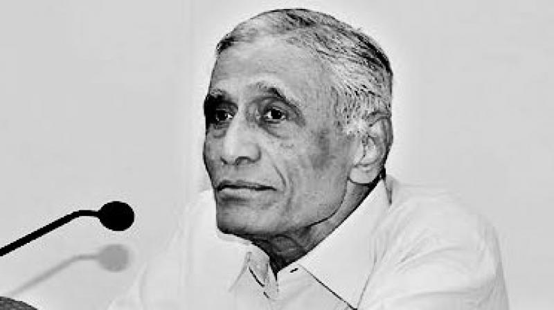 Bukkapuram Nadella Yugandhar, a retired Indian Administrative Service (IAS) officer of the 1962 batch, served in the Prime Minister's Office and the Planning Commission, died at his residence in Banjara Hills in Hyderabad, family sources said. (Photo: Twitter)