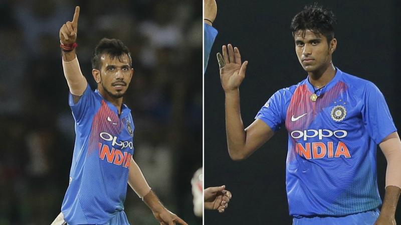 Image result for chahal and sundar