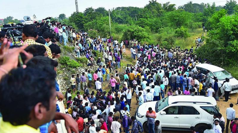 Vet rape-murder case: Telangana govt constitutes SIT to probe 'encounter' killing
