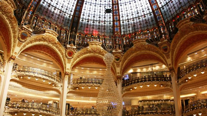 France's Galeries Lafayette turns to art and gourmet food to lure shoppers. (Photo: Pixabay)