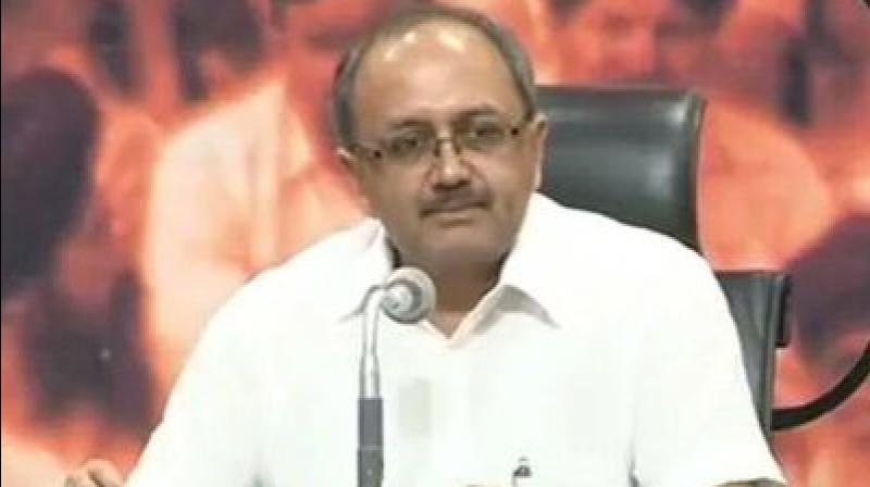UP Health Minister Sidharth Nath Singh also hit out at MP CM and Cong leader Kamal Nath over his government's decision to 'temporarily' stop recital of Vande Mataram at state secretariat. (Photo: Twitter | @SidharthNSingh)