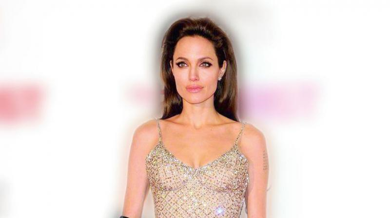 A picture of Angelina Jolie used for representational purposes only