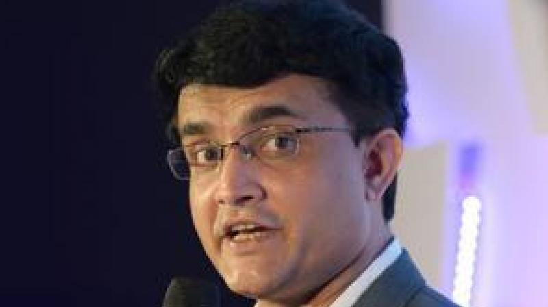 Sourav Ganguly. (Photo: AFP)
