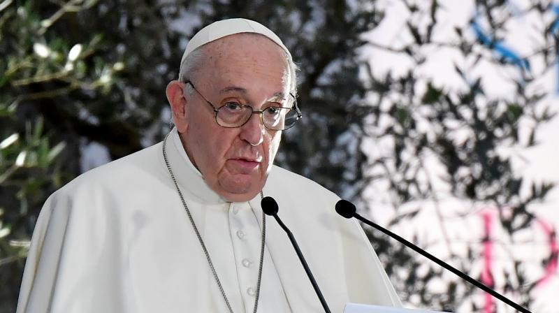 Pope says same-sex couples should be protected by civil union laws