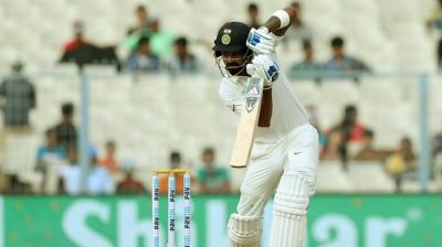 KL Rahul steered India's chase in the 3rd innings. (Photo: BCCI)