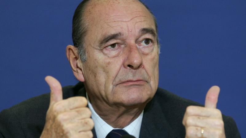 Jacques Chirac (Photo: AFP)