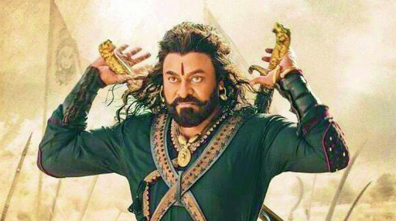 The 64-year-old Chiranjeevi does justice to his screen time.