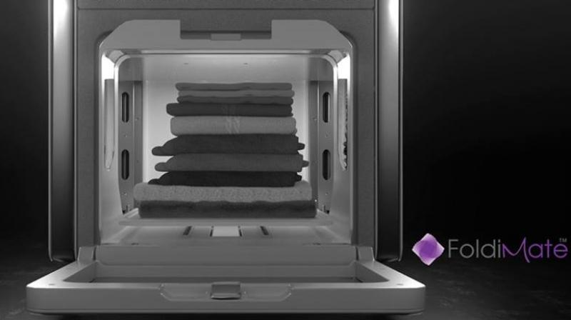 CES 2018: Foldimate can fold your laundry in four minutes